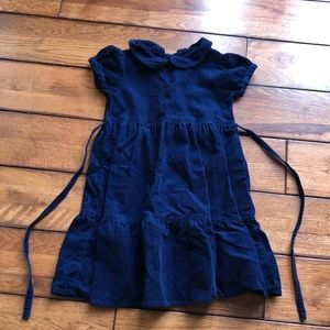 Ralph Lauren blue corduroy dress size 4
